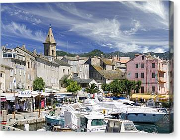 Canvas Print featuring the photograph Corsica by Rod Jones