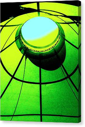 Cosmic Space Canvas Print - Cosmic Center by Randall Weidner