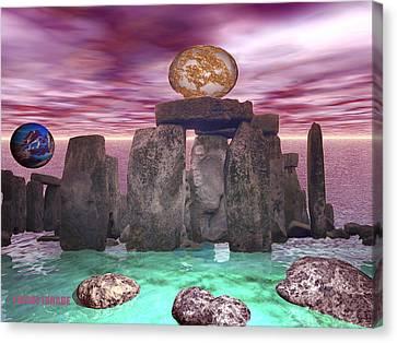 Cosmic Dance 3 Canvas Print