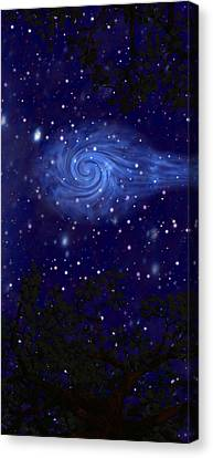Cosmic Messenger Canvas Print by Diana Morningstar