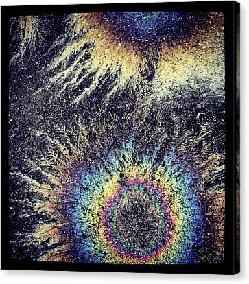 Cosmic Oil-b Canvas Print