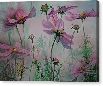 Cosmos Canvas Print by Ruth Kamenev