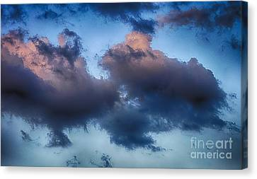 Cotton Candy Sunset Canvas Print by Jeremy Linot