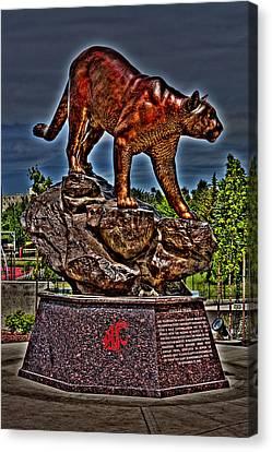 Cougar Pride Canvas Print