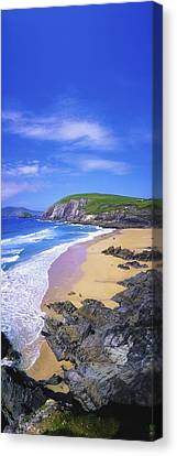 Coumeenoole Beach, Dingle Peninsula, Co Canvas Print by The Irish Image Collection