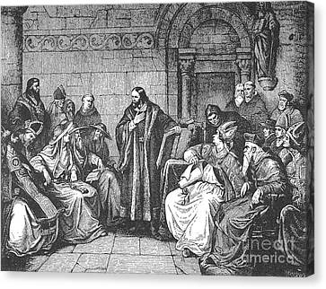 Council Of Constance, 1414 Canvas Print by Granger