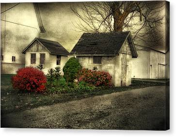 Canvas Print featuring the photograph Country Charm by Mary Timman