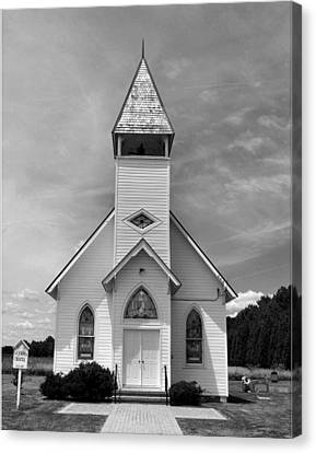 Country Church Canvas Print by Steven Ainsworth