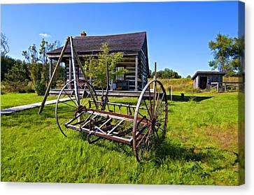 Country Classic Paint Filter Canvas Print by Steve Harrington