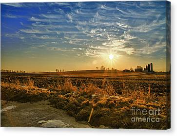 Country Light Canvas Print by Joel Witmeyer