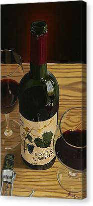 Virginia Wine Canvas Print - Country Livin by Brien Cole