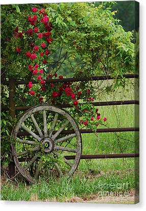 Canvas Print featuring the photograph Country Simplicity by Julie Clements