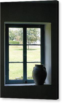 Canvas Print featuring the photograph Country Window by Michelle Joseph-Long
