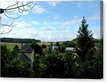 Canvas Print featuring the photograph Countryside by Pravine Chester