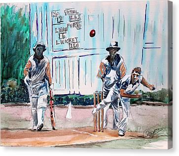 County Cricket Canvas Print