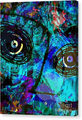 Courage - Trouble Don't Last Always Canvas Print by Fania Simon
