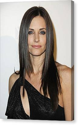 Courteney Cox At Arrivals For Fx Canvas Print by Everett