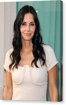 Courteney Cox In Attendance For Atas Canvas Print by Everett