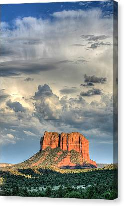 Courthouse Rock I - Sedona Arizona Canvas Print by Dale Athy