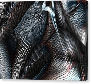 Covering Coals Canvas Print by Steve Sperry
