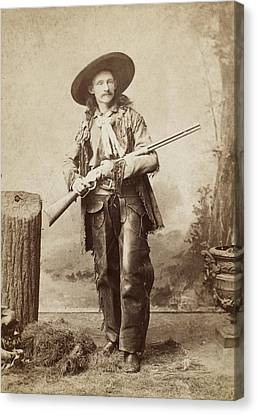 Cowboy, 1880s Canvas Print by Granger