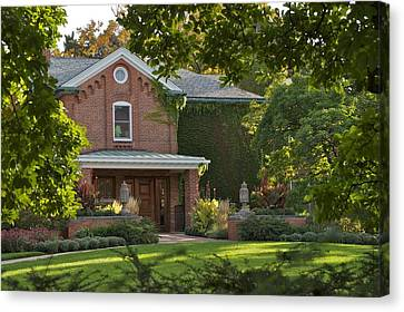Canvas Print featuring the photograph Cowles House by Joseph Yarbrough