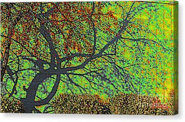 Crabapples West Acid Pop Canvas Print by Feile Case