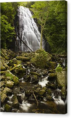 Crabtree Falls Canvas Print by Andrew Soundarajan