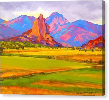 Crawford Rock Canvas Print