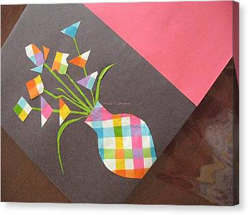 Creative Mind Unfolds  Canvas Print by Sonali Gangane