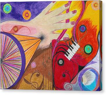 Creativity Canvas Print by Aileen Heymach