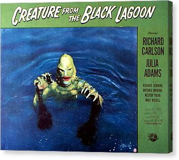 Creature From The Black Lagoon, 1954 Canvas Print