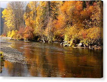 Creek Of Leavenworth Canvas Print