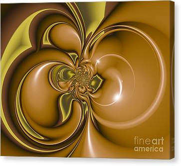 Creme De Menthe Canvas Print by Michelle H