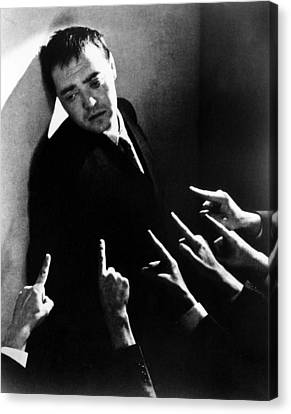 Crime And Punishment, Peter Lorre, 1935 Canvas Print