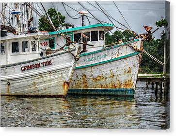 Crimson Tide And Christi Lynne Canvas Print
