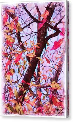 Crisp Autumn Day Canvas Print by Judi Bagwell