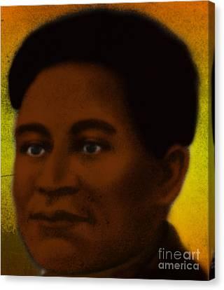 Crispus Attucks, African-american War Canvas Print by Photo Researchers