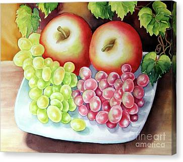 Crispy Fruits Canvas Print