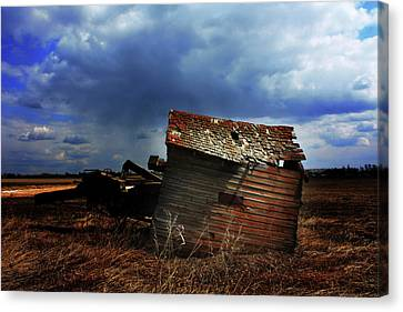 Crooked Breeze One Canvas Print by Empty Wall