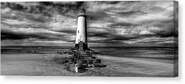 Crooked Lighthouse Canvas Print by Adrian Evans