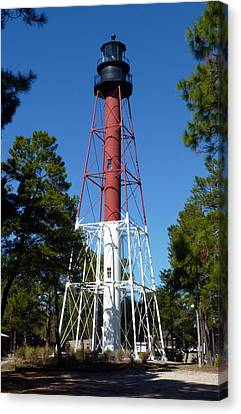 Crooked River Lighthouse Canvas Print by Carla Parris