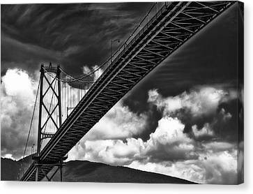 Canvas Print featuring the photograph Crossing by Thomas Born