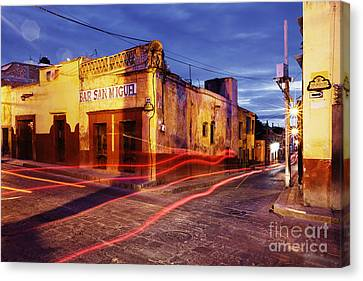 Crossroads Canvas Print by Jeremy Woodhouse