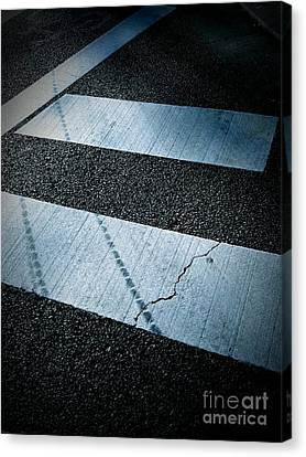 Crosswalk Canvas Print by Eena Bo