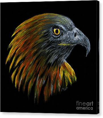 Crowhawk Canvas Print by Peter Piatt