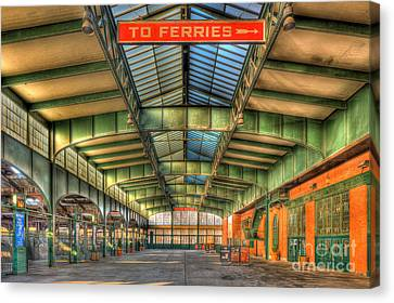 Crrnj Terminal I Canvas Print by Clarence Holmes