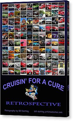 Cruisin Poster Canvas Print by Bill Dutting