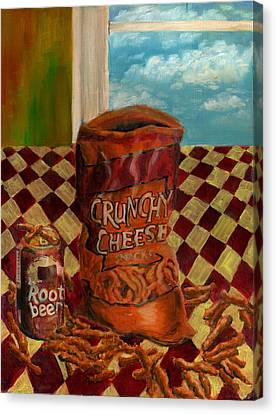 Crunchy Cheese - Autumn Canvas Print