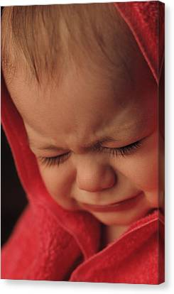 Crying Baby Canvas Print by John Wong